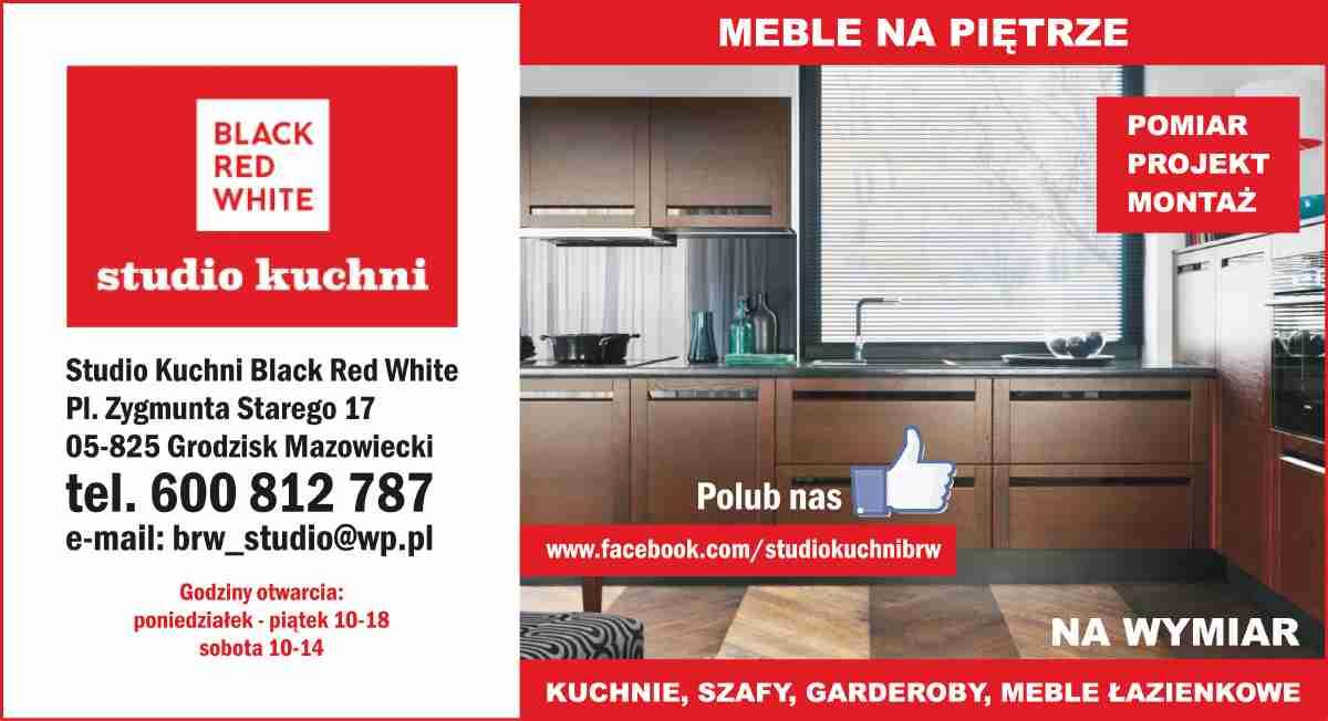 Studio Kuchni Black Red White Grodzisk Mazowiecki Kuchnie Na